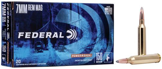 Federal Power Shok 7mmRemMag 150gr x20