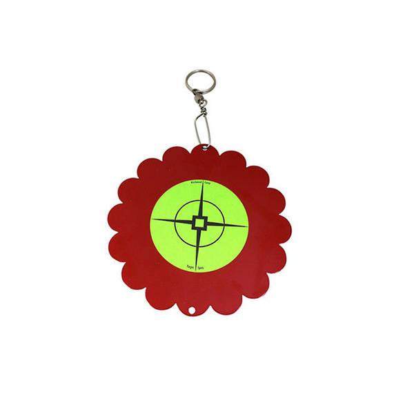 Birchwood Casey Airgun Shoot-N-Spin Red/Green Target #47117