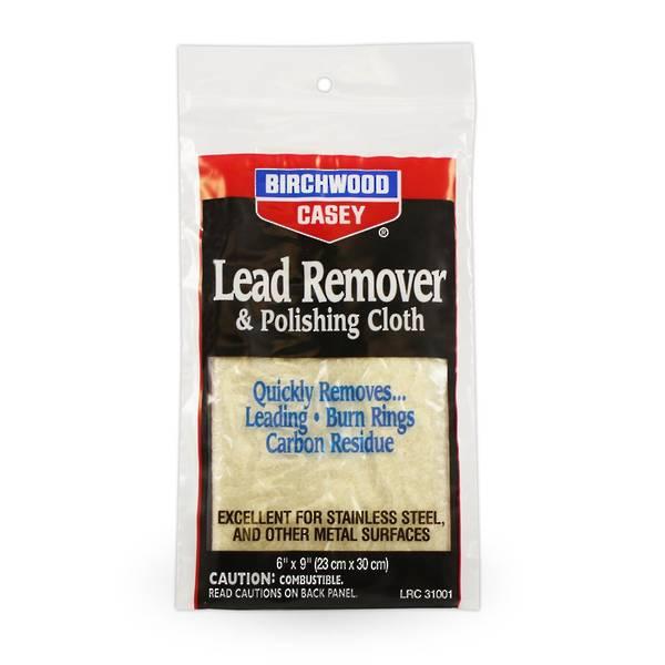 Birchwood Casey Lead Remover & Polishing Cloth #31001