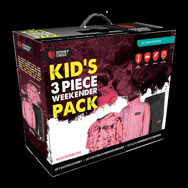 Stoney Creek Kids 3 Piece Pack Watermelon Size 10