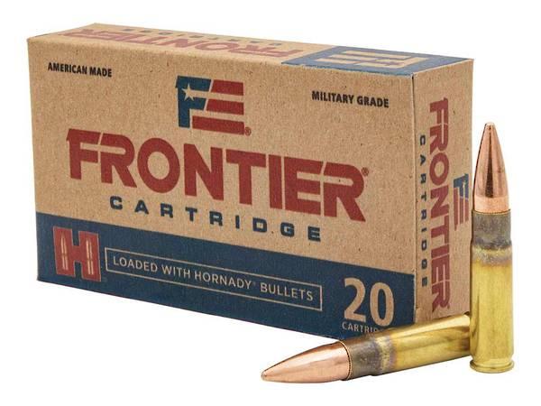 Hornady Frontier Ammunition 300AAC 125gr FMJ x20 #FR400