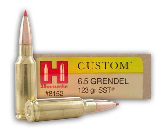 Hornady Custom 6.5 Grendel 123gr SST #8152