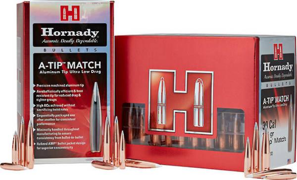 Hornady A-Tip 338cal 300gr Match x100 #33389
