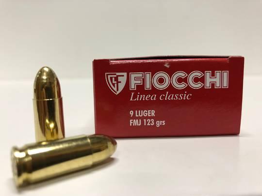 Fiocchi Classic Line 9mm Luger 123gr FMJ x50