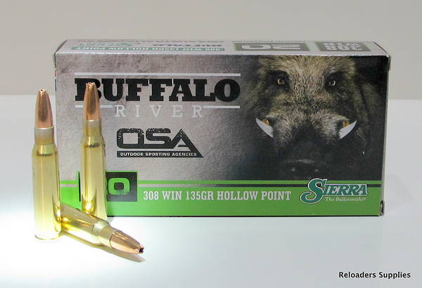 Buffalo River 308win 135gr HP x20 Rounds