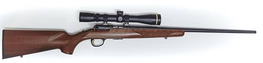 Browning T-Bolt Walnut 22WMR With Leupold VX-3 4.5-14x40 Second Hand