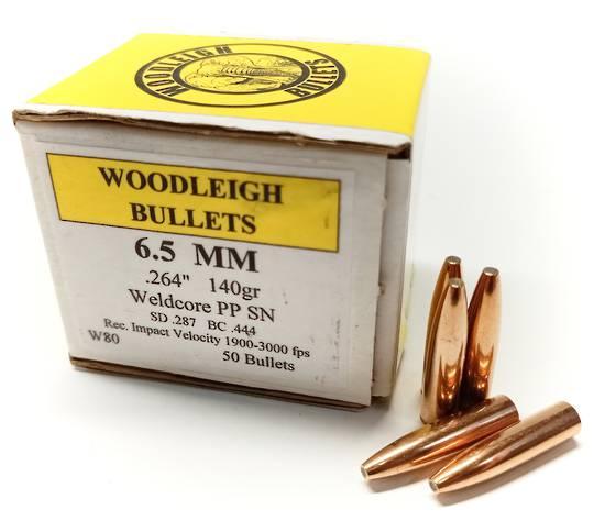 Woodleigh 6.5mm 140gr WCPP x50