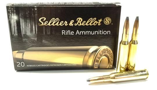 Sellier & Bellot 6.5x55 156gr SP x20