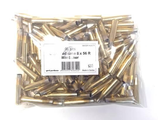PPU Brass 8x56R x100