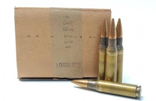 7.62x51mm L2A2 146gr Ball x40