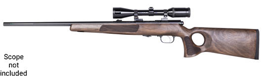 Weihrauch HW66 Production 17HMR with 1400gm DT Thumbhole stock Rifle