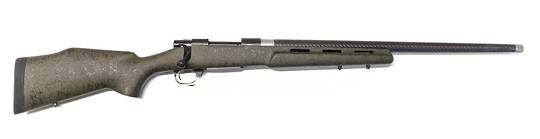 """Howa 1500 6.5 PRC 24"""" Carbon Fiber Barrel with Bell & Carlson Varmint Tactical Flutes Green Stock 5/8x24 Threaded (Weight 3.5kg)"""