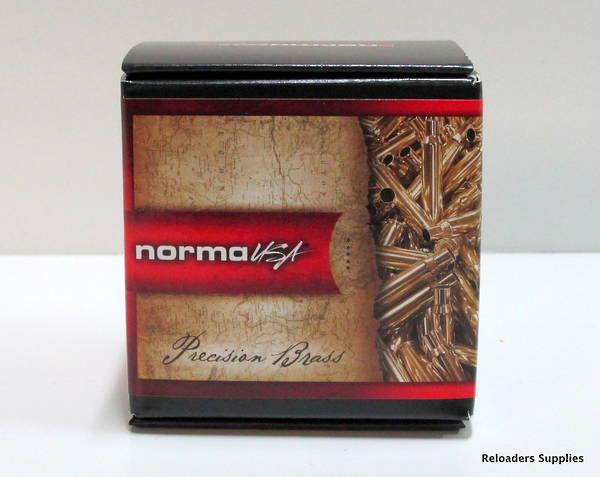 Norma Brass 6mmPPC x25