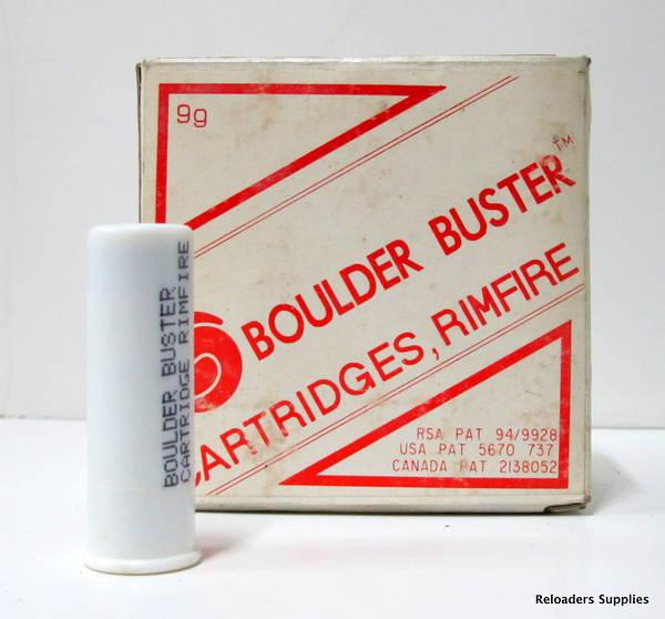 Boulder Buster 12ga Cartridges x25