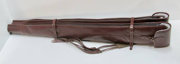 Genuine Leather Double Shotgun Case