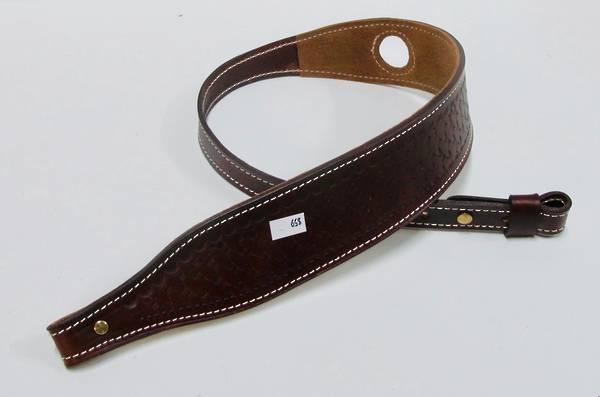 NZ Made Full Leather Basket Weave Sling