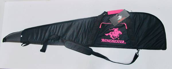 """Winchester Rifle Bag Pink 52"""""""