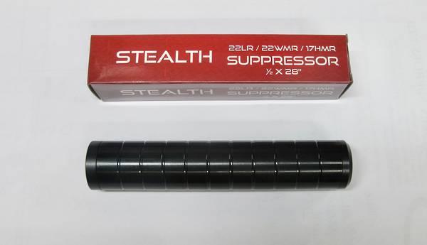Stealth Rimfire Suppressor .22LR/17HMR/22WMR  1/2x28