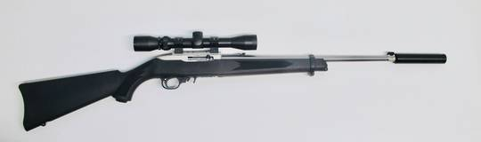 Ruger 10/22 22lr Stainless Synthetic Sporter Package
