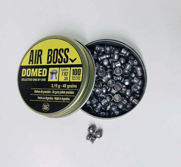Apolo Air Boss Domed 30cal / 7.62 Pellets Tin 100