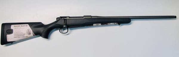 MAUER M18 308 WINCHESTER CERAKOTE TUNGSTON THREADED M15