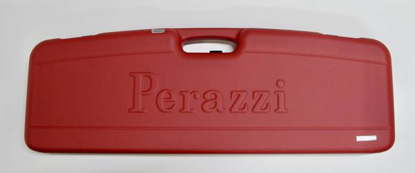 Perazzi Standard Embossed Single Over/Under Hard Case Red Colour #10393
