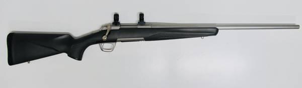 Browning X-bolt Stainless Stalker 223rem Pre-Owned