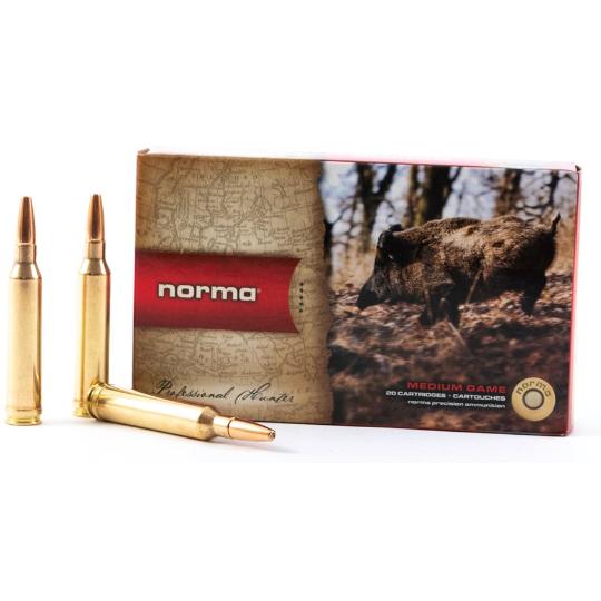 Norma Ammunition 7mmRemMag 170gr Vulkan x20