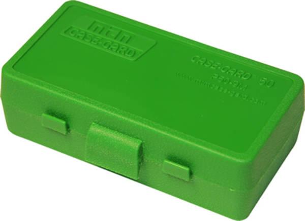 MTM Pistol Ammo Box P50-32-10 (Green Colour)
