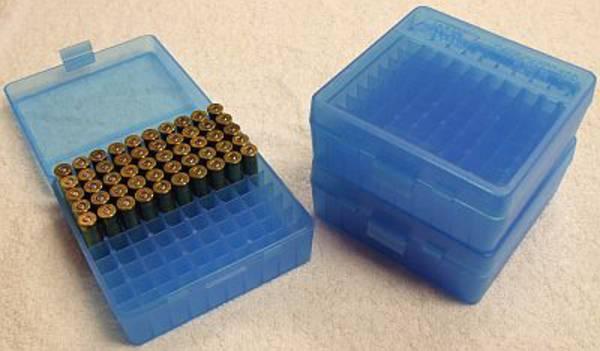 MTM Pistol Ammo Box P-100-3-24