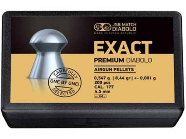 JSB Match Diabolo Exact Premium .177 8.44gr x 200 (#10237-200)