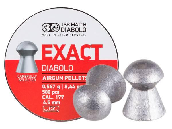JSB Match Diabolo Exact Premium .177 8.44gr x 200