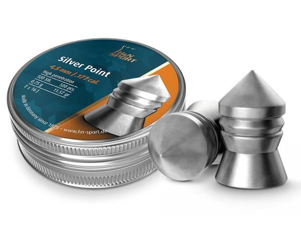 H&N Silver Point .177cal x500