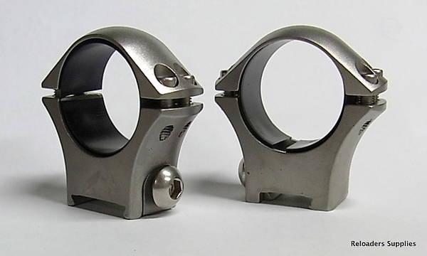 "Sako Optilock Mount Rings 1"" Low Stainless Steel S1703900"