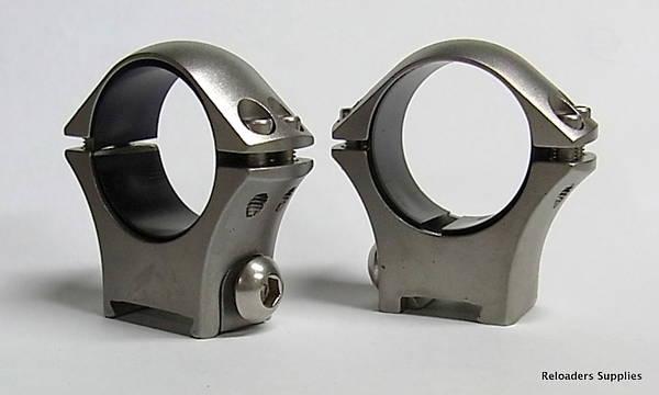 Sako Optilock Ring Mounts 30mm Low Stainless Steel