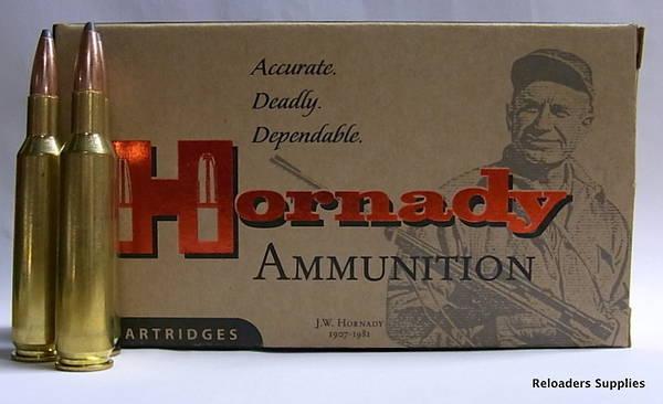Hornady Custom 308 Winchester 165gr BTSP 20 Rounds
