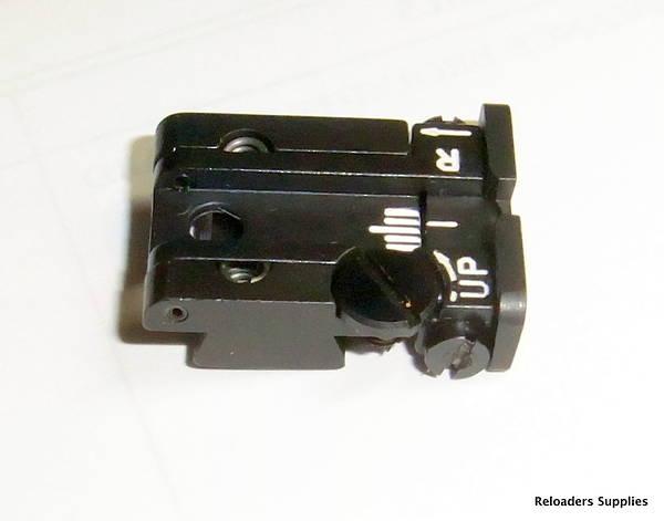 CZ Pistol Adjustable Rear Sight