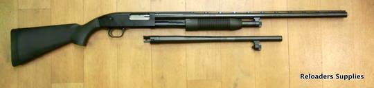 """Maverick 88 12ga Pump action shotgun combo 18.5"""" and 28"""" barrels"""