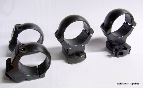 Borom Tikka T3, T3X Quick Release scope bases with 2 pair 30mm rings