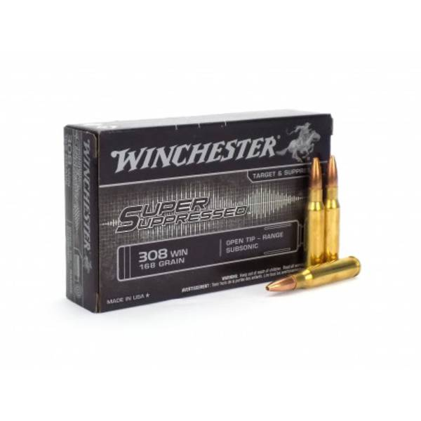 Winchester Super Suppressed .300AAC BLK 200gr (20)
