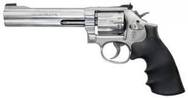 Smith & Wesson 617 22LR Stainless Steel 6 Inch Pistol #160578