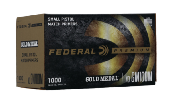 Federal Premium Small Pistol Match Primers x 1000