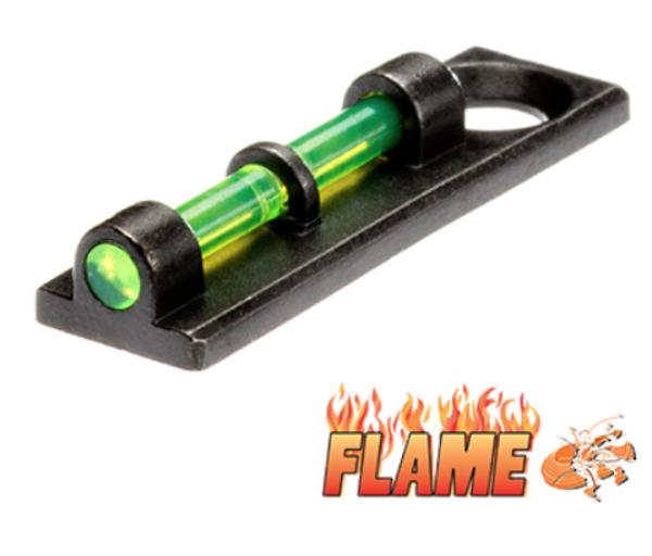 HiViz Flame Shotgun Sight Green #FL2005