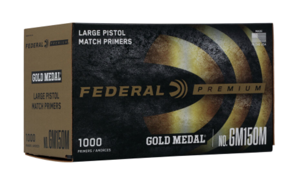Federal Large Pistol  Gold Medal Match GM150M x1000