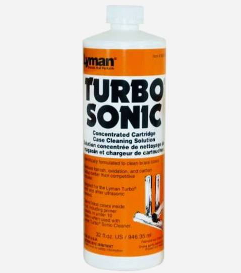 Lyman Turbo Sonic Concentrated Cartridge Case Cleaning Solution 32oz