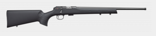 CZ457 22WMR Synthetic / Blue Rifle