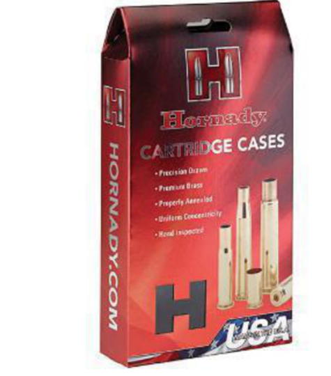 Hornady 300 H&H Brass Cases Box of 50
