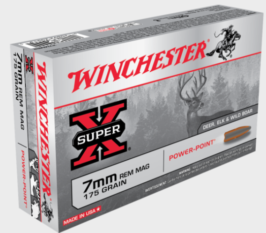 Winchester Super X 7mm Remington Magnum x20