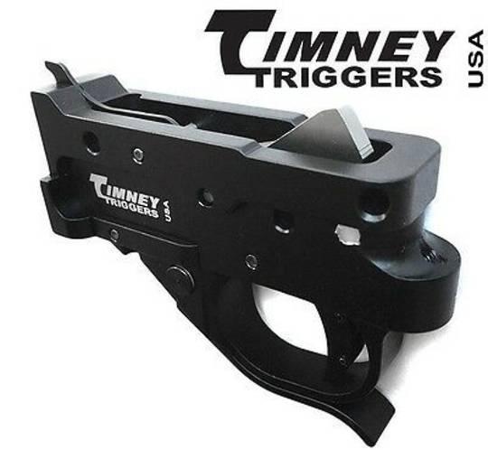 Timney 10/22 Drop In Trigger Black / Black Shoe 1022-1C