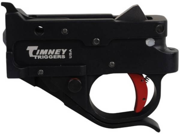 Timney 10/22 Drop In Trigger Black Red Shoe